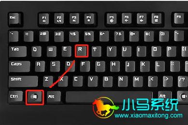 """通过键盘:Win+R打开""""运行"""""""