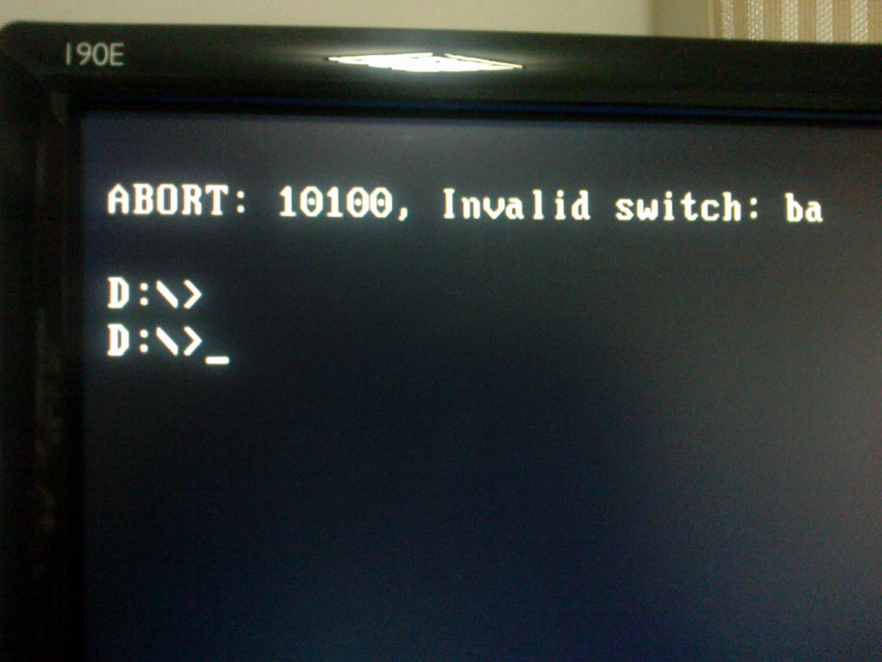 Win10系统重装提示ABORT:10100应该怎么解决